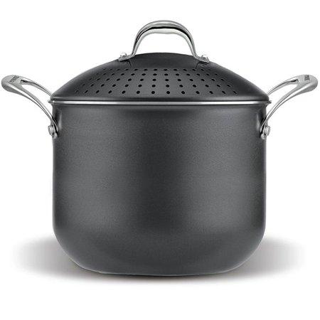 pensofal pen5516 pasta pot with strainer lid stainless steel. Black Bedroom Furniture Sets. Home Design Ideas