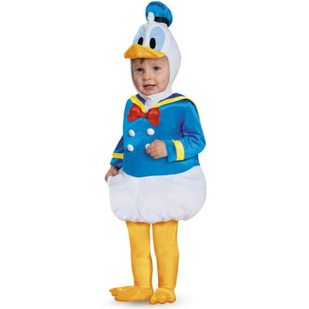 Prestige Toddler Donald Duck Infant Halloween Costume, 12-18 Months - Infant Toddler Costumes