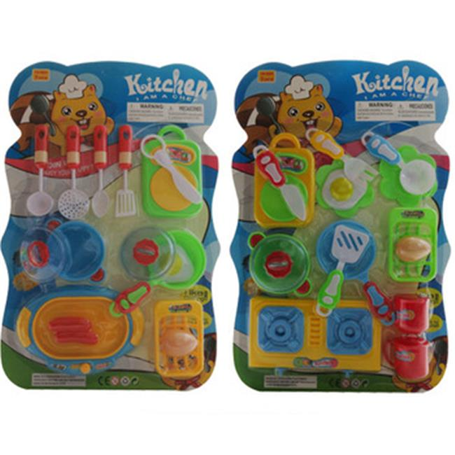 DDI 2169750 Blister Kitchen Playset - 15 Pieces