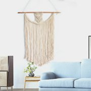 Bohemian Macrame Woven Tapestry Wall Hanging Fringe Garland Banner Home Wedding Ornaments Craft Birthday Gifts