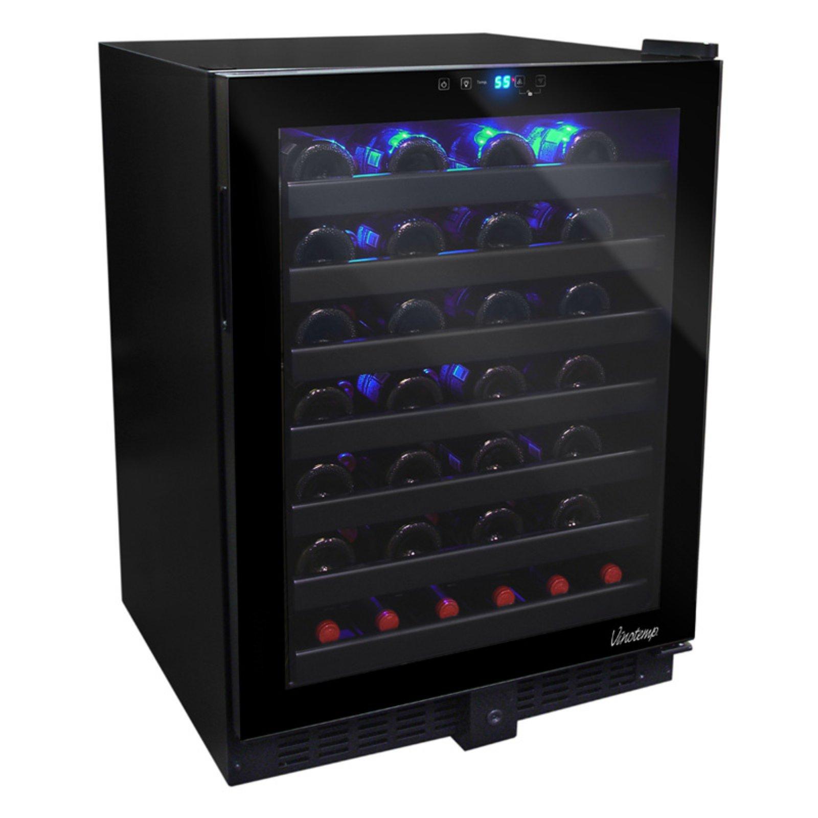 Vinotemp 54 Bottle Touch Screen Wine Cooler