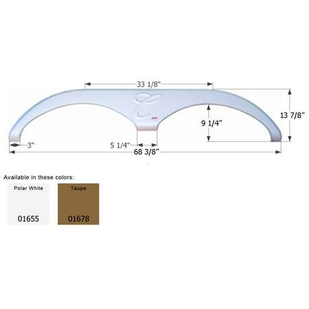 Icon 01678 Fender Skirt Tandem Axle  - image 1 de 1