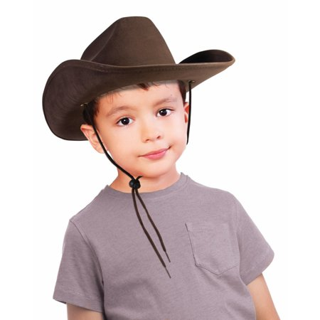 Child Cowboy Hat (Brown) - Cowboy Hats Kids