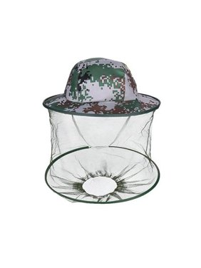 Mosquito Head Net Hat,  Sun Hat Bucket Hat with Hidden Net Mesh Protection from Insect or OutdoorOutdoor Fishing Gardening Camping Hiking Beekeeping