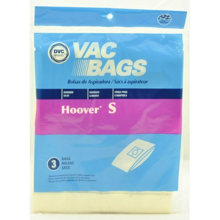 Hoover Type S Canister Vacuum Cleaner Bags Dvc Replacement Brand Designed To Fit