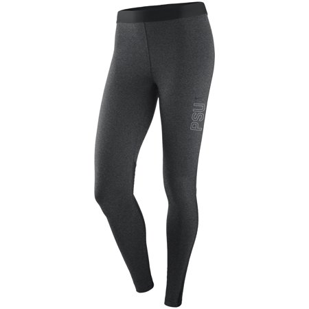 Penn State Nittany Lions Nike Women's Pro Warm Performance Tights - Heathered Charcoal ()