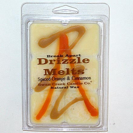 Swan Creek Candle Soy Drizzle Melt 4.75 Oz. - Spiced Orange & Cinnamon