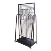 WESTWARD 48GE61 Tool Rack,Steel,Black,38 in. W