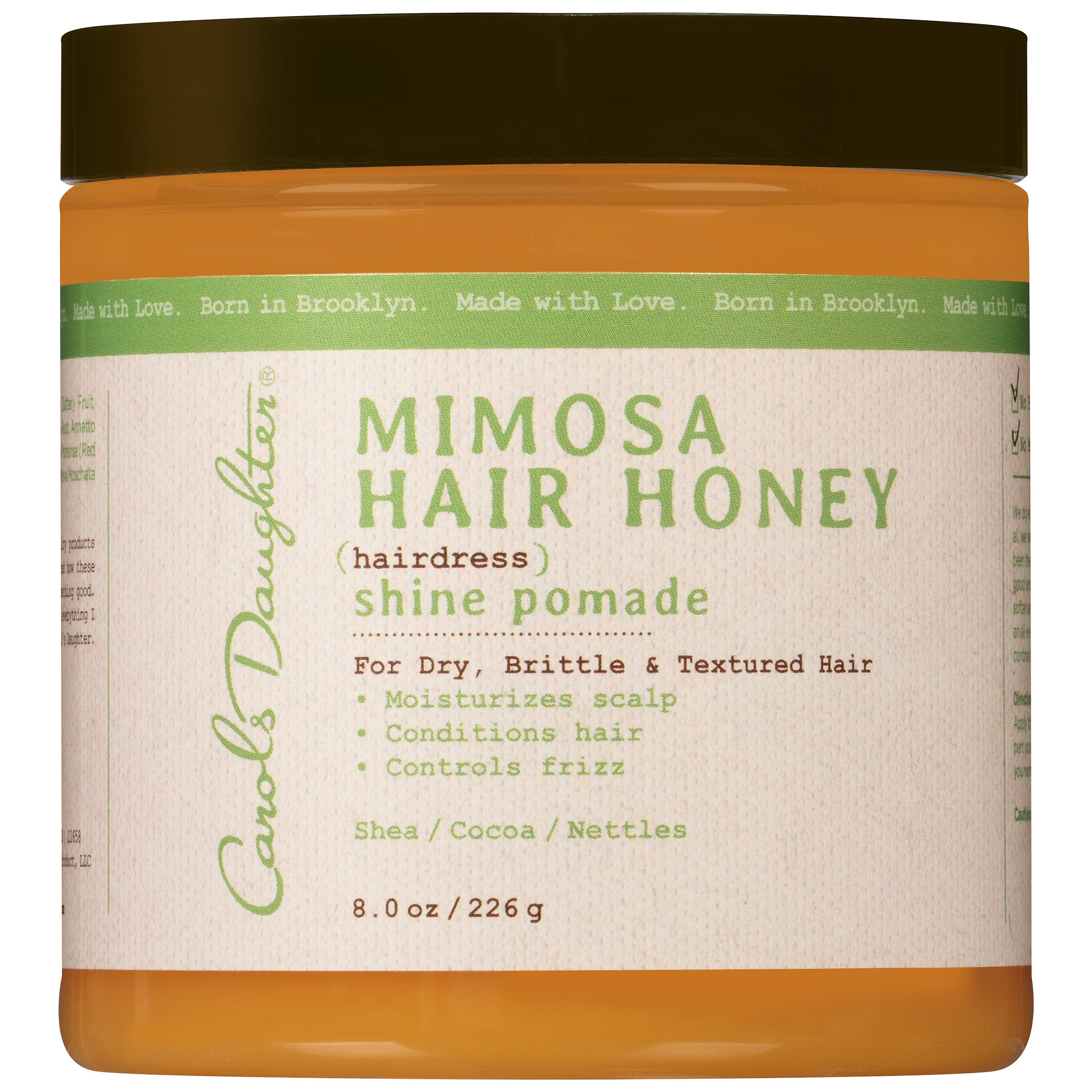 Carol's Daughter Moisturizing Mimosa Hair Honey Shine Pomade For Dry and Textured Hair, 8 fl oz