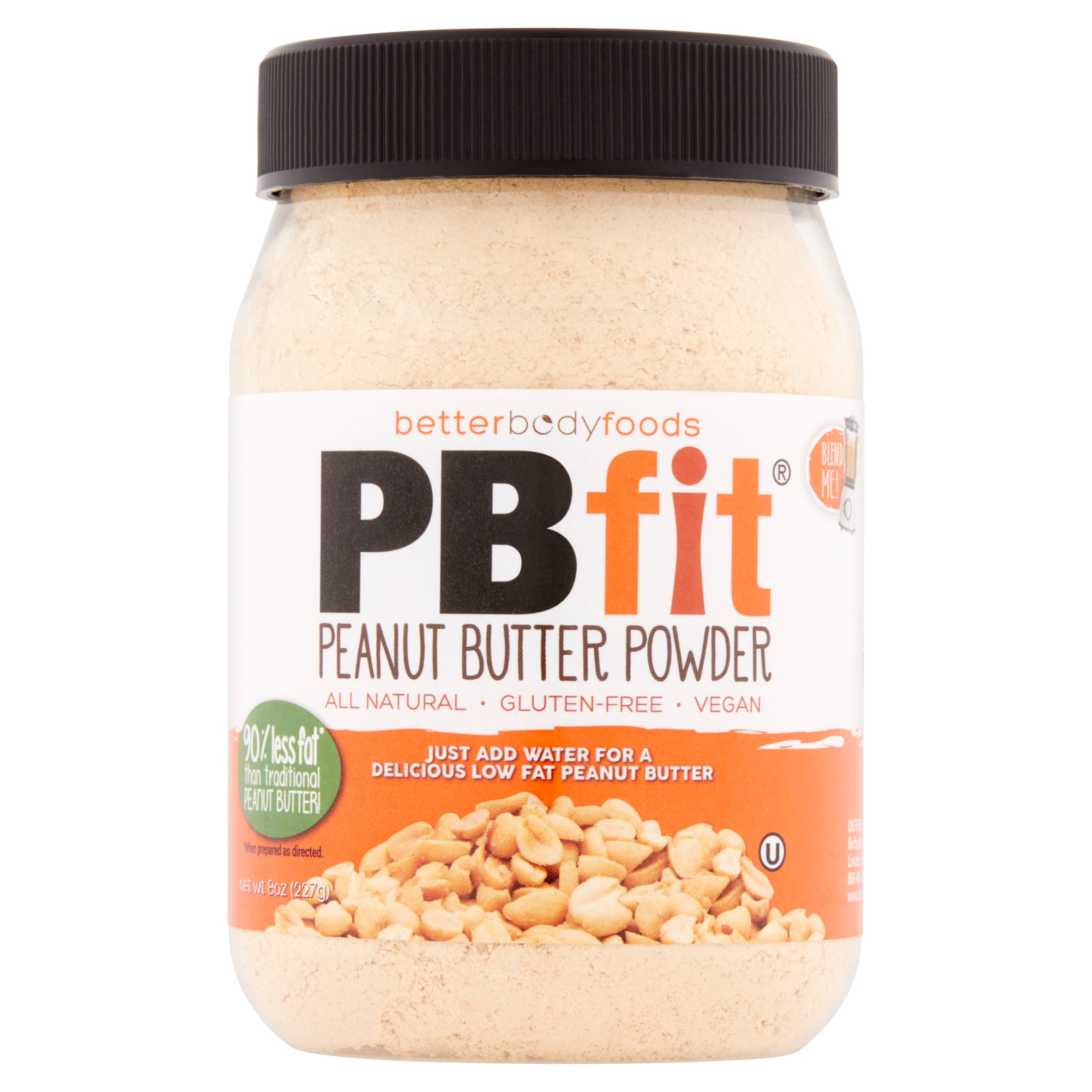 Betterbody Foods PB Fit Peanut Butter Protein Powder, , 8g Protein, 0.5 Lb