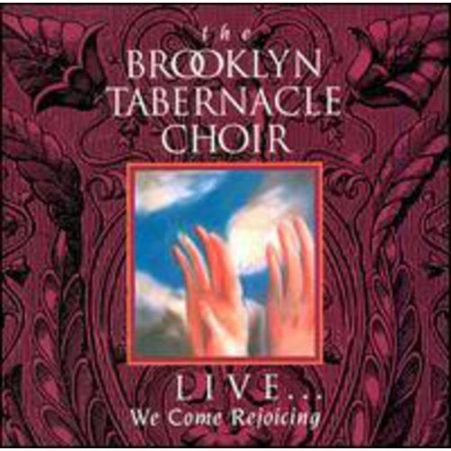 """Includes a sermon from Pastor Jim Cymbala.<BR>LIVE...WE COME REJOICING won the 1994 Grammy Award for """"Gospel Album by a Choir or Chorus."""""""