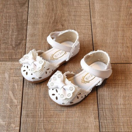Cute Toddler Baby Girl Shoes Kids Girls Flats Shoes Wedding Princess Party Shoes