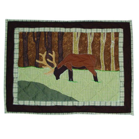 "Image of Patch Magic Brown Elk Pillow Sham 27""X21"""