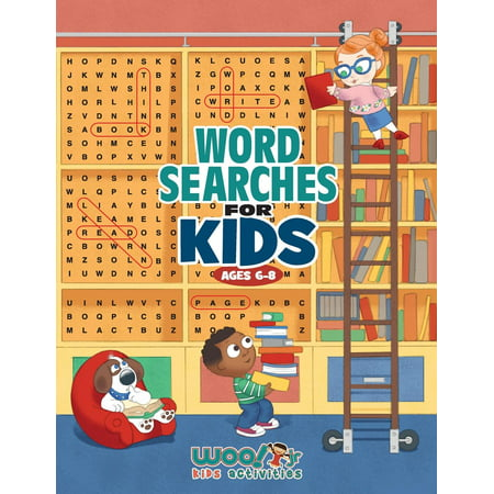 Word Search for Kids Ages 6-8 : Reproducible Worksheets for Classroom & Homeschool Use (Woo! Jr. Kids Activities Books) (Halloween Activities Word Search)