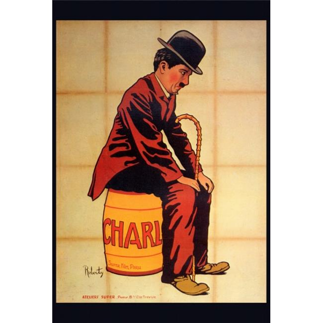 Pop Culture Graphics MOVCF6347 Charlie Chaplin Movie Poster Print, 27 x 40 - image 1 of 1