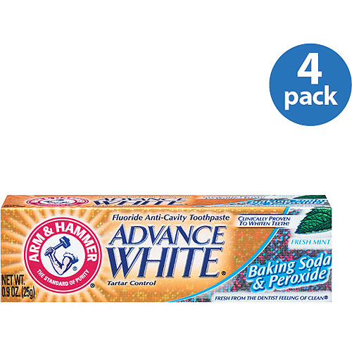 Arm & Hammer Advance White Toothpaste, 0.9 Oz