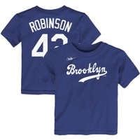 Jackie Robinson Los Angeles Dodgers Nike Toddler Cooperstown Collection Player Name & Number T-Shirt - Royal