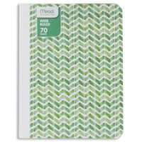 "Mead Composition Notebook, Wide Ruled, 70 Sheets (140 Pages), 9-3/4"" x 7-1/2"", Fashion Design"