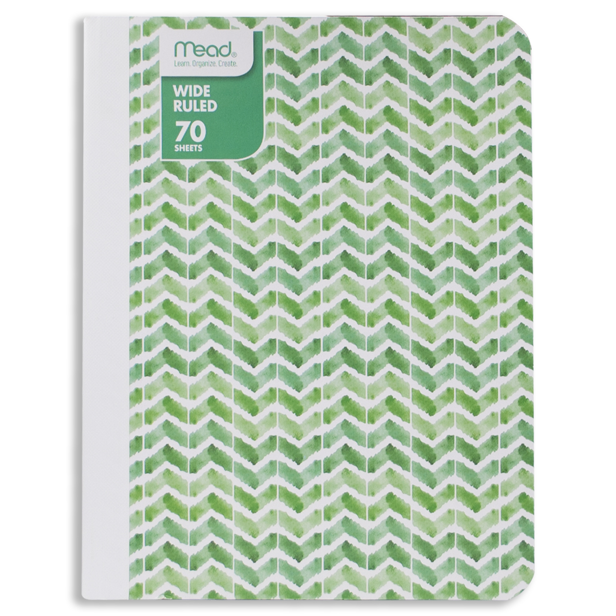 """Mead Composition Notebook, Wide Ruled, 70 Sheets (140 Pages), 9-3/4"""" x 7-1/2"""", Fashion Design"""