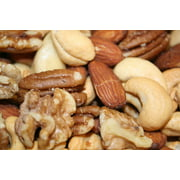 BAYSIDE CANDY MIXED NUTS DELUXE ROASTED UNSALTED, 1LB