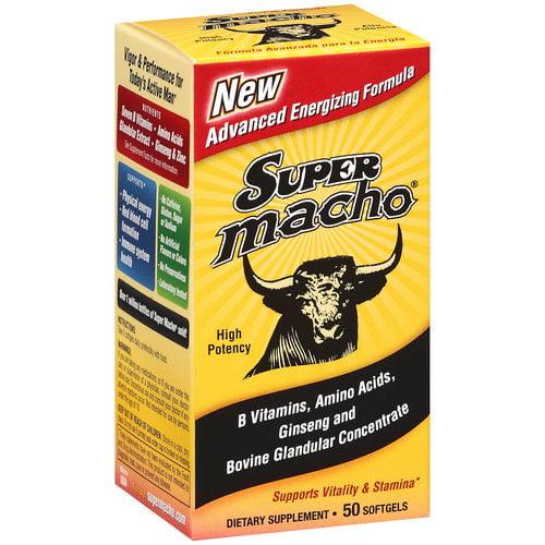 De La Cruz Products Super Macho Advanced Energizing Formula, 50 ea