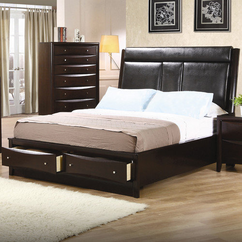 Wildon Home  Cundiff  Storage Panel Bed