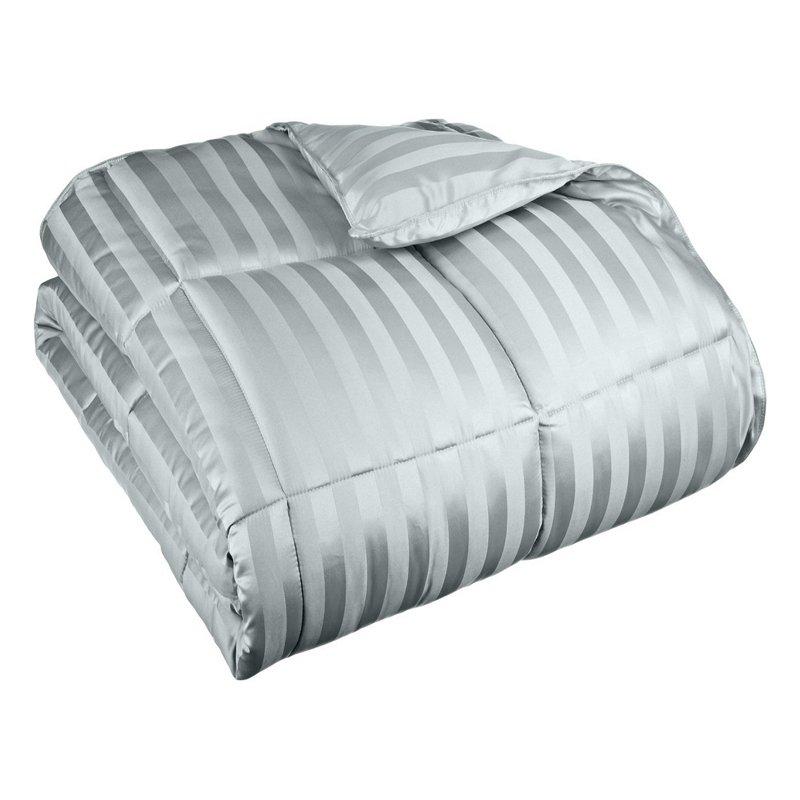Superior All Season Down Alternative Wide Stripe Comforter