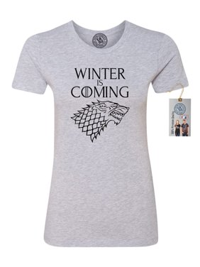 cf3433963 Sold & shipped by Custom Apparel R Us. Product Image Games of Throne Winter  is Coming Shirt Womens Short Sleeve T-Shirt