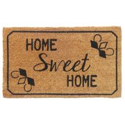 Aspire Linens 'Home Sweet Home'  Natural Coir Doormat
