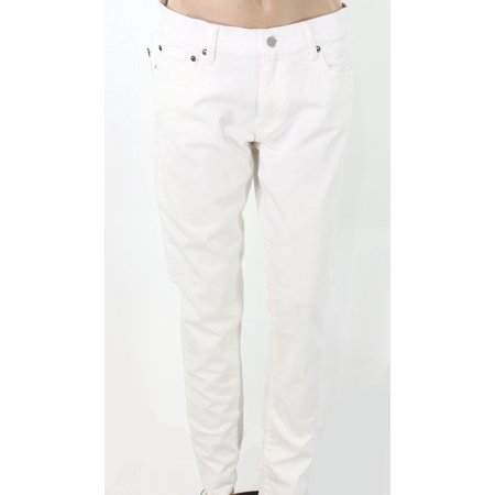 Polo Ralph Lauren NEW White Womens Size 31 Tompkins Skinny Jeans