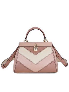 51577fbb0e0b Product Image Michael Kors Gramercy Small Tri-Color Leather Satchel