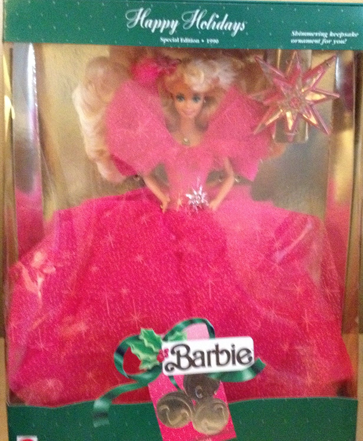 Mattel Happy Holidays 1990 by Mattel, Happy Holiday Barbie Series By Barbie by