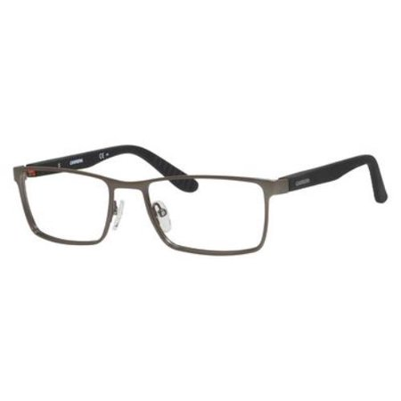 - CARRERA Eyeglasses 8809 00RF Dark Ruthenium / Matte Black 54MM