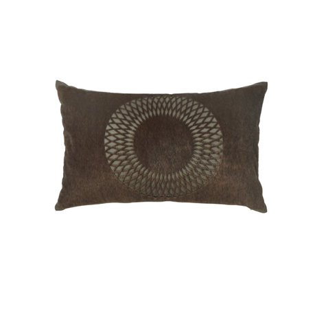 Ashley Lazarus Throw Pillow in Brown (Set of 4)