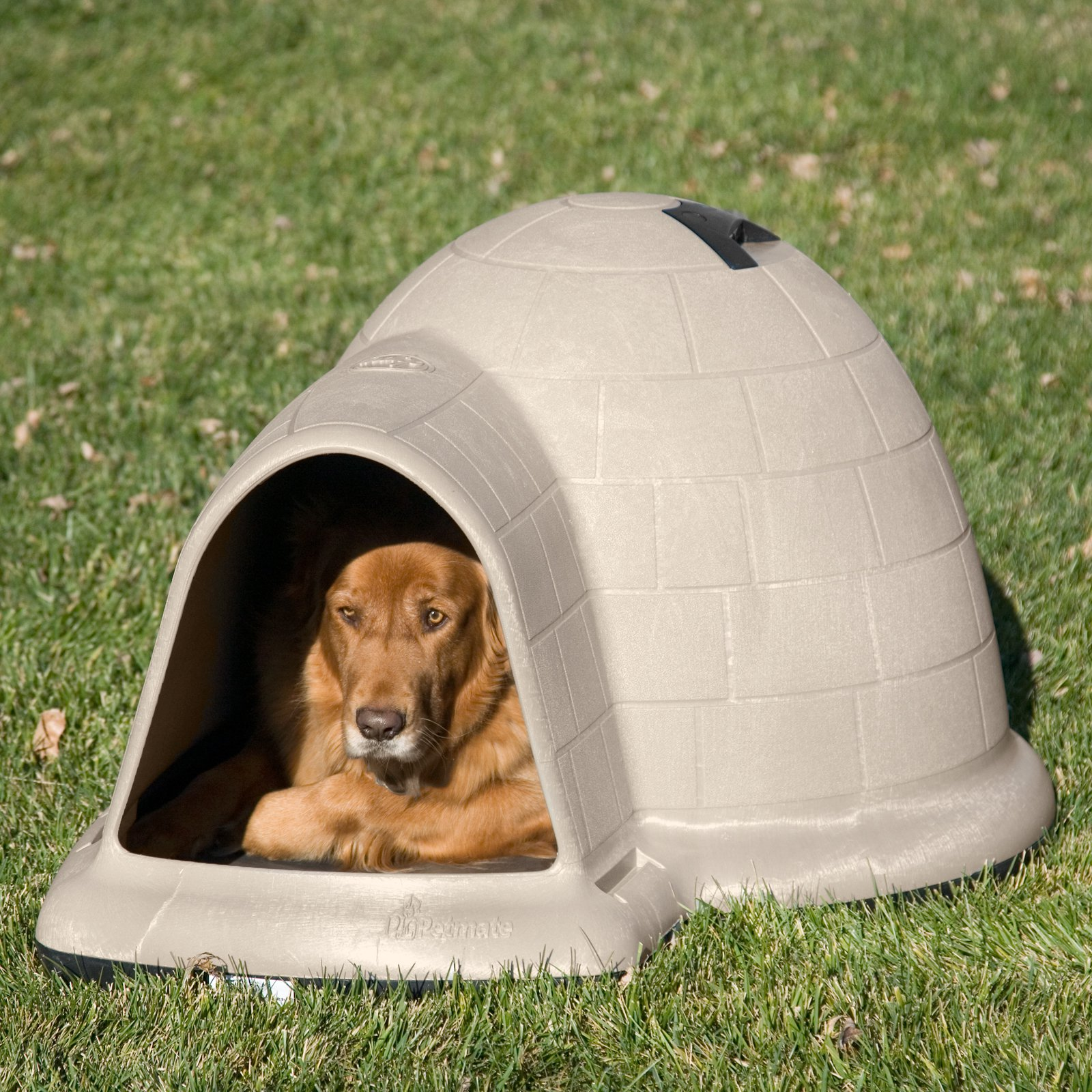 Petmate Indigo Dog house W Microban, 50-90Lbs by Doskocil Manufacturing Co Inc