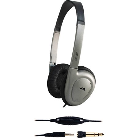 Cyber Acoustics Black Stereo Headphones