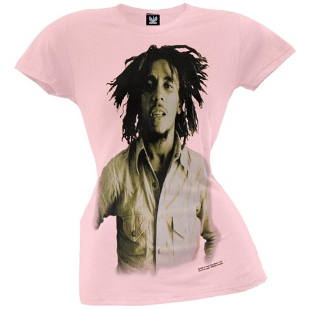 Bob Marley - Sepia Basic Ladies T-Shirt - Medium Bob Marley Tee Shirts