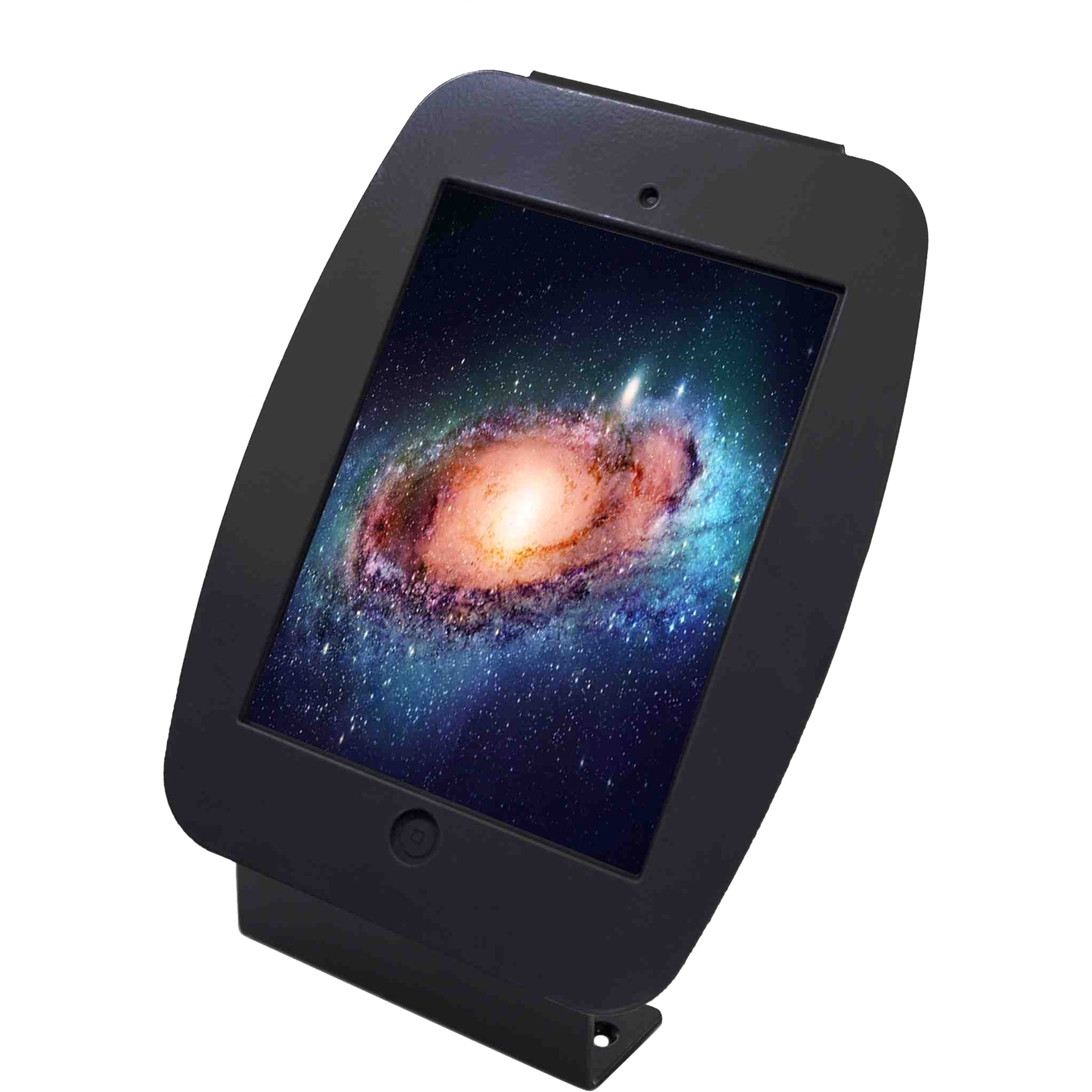 """MacLocks 101B235SMENB MacLocks Introducing ""Space"" Mini - iPad Mini Enclosure Kiosk - Black - Black"""