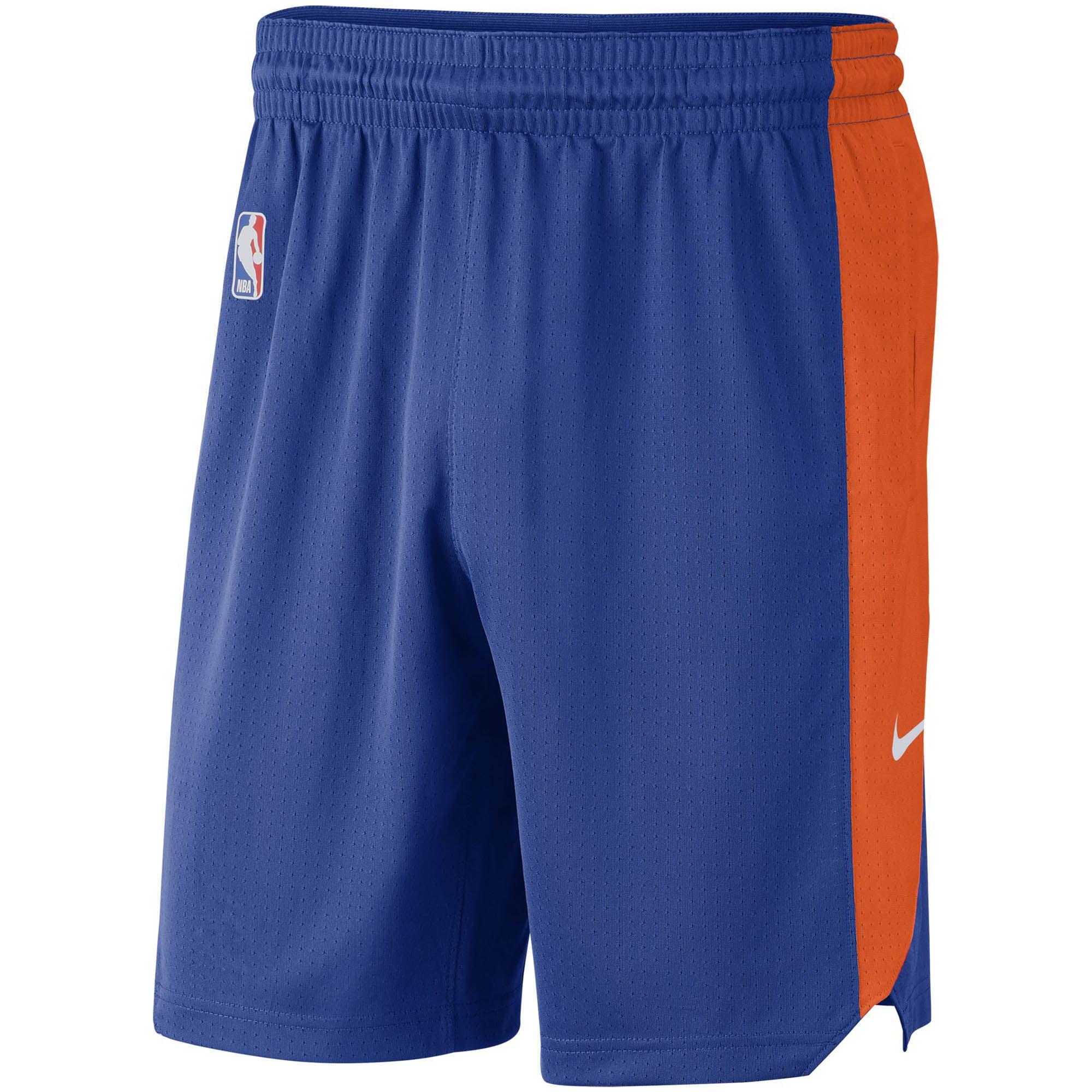 New York Knicks Nike Performance Practice Shorts - Blue