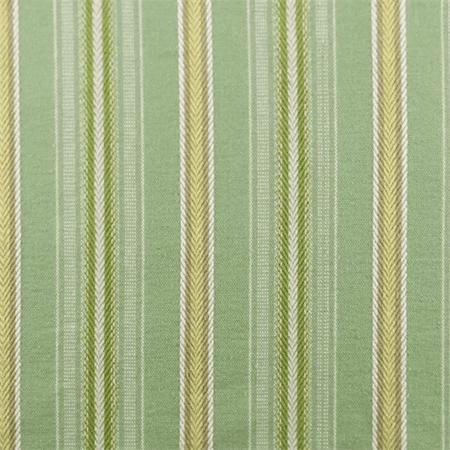 Mint Green Multi Linen Cotton Stripe Decorating Fabric
