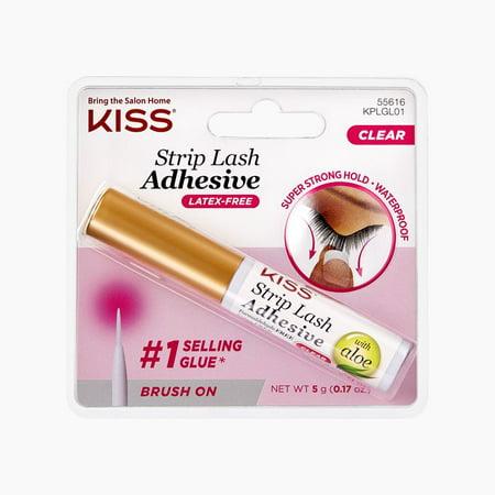 02d9ce981b7 KISS Ever EZ Strip Eyelash Adhesive, Clear - Walmart.com