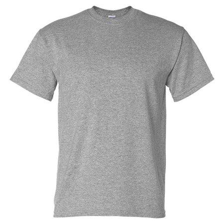 3afdfc458fe4 Gildan - Gildan G8000 DryBlend Adult Short Sleeve T-Shirt -Sport Grey-Small  - Walmart.com