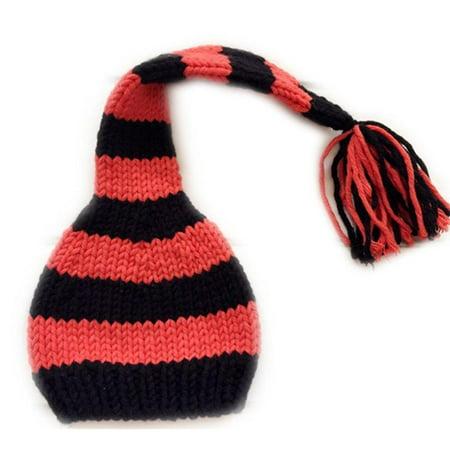 Newborn Baby Boy Costumes (auberllus handmade infant newborn baby girl boy crochet knit hat photography props outfits)