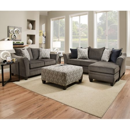 Simmons Upholstery Albany Sofa Chaise Walmart Com