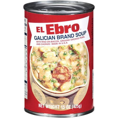 El Ebro Galician Brand Soup, 15 oz