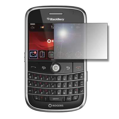 Premium Reusable LCD Mirror Screen Protector for Blackberry Curve 8900