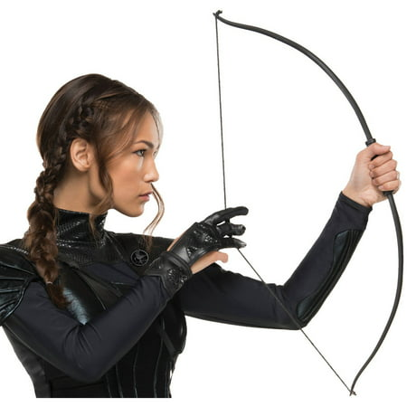 The Hunger Games: Mockingjay Part 2 Katniss Glove For Women Halloween Accessory, One Size - Halloween Forum Games