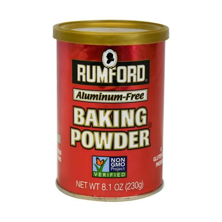 Rumford Premium Aluminum-Free Baking Powder, 8.1 oz