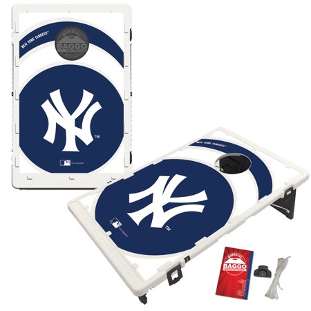 New York Yankees 2' x 3' Vortex Design BAGGO Bean Bag Toss Game - No Size Baggo Bean Bag Game