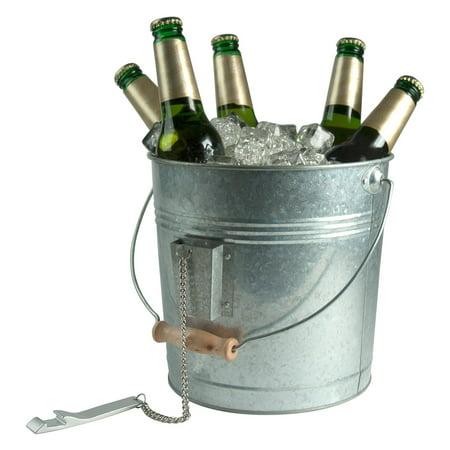 Artland Inc. Oasis Galvanized Beverage Pail with Opener](Galvanized Pails)